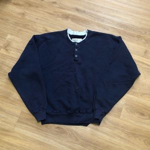 Vintage 90's LL Bean Russell USA Crewneck Sweater